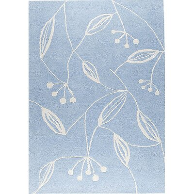 Vanita Blue Area Rug Rug Size: 66 x 99