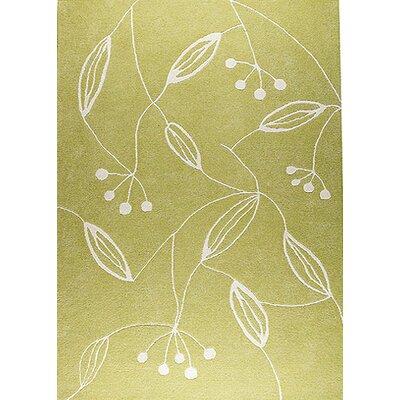 Vanita Green Area Rug Rug Size: 56 x 710