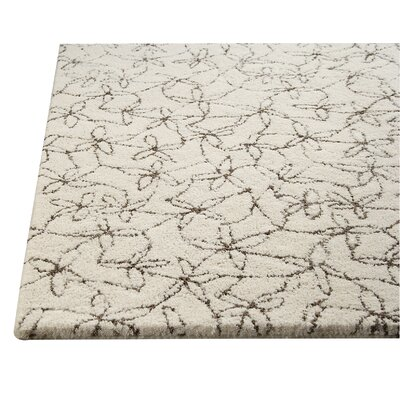 Pargo Natural/Grey Rug Rug Size: 46 x 66