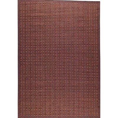 Roark Brown Solid Area Rug Rug Size: 56 x 710