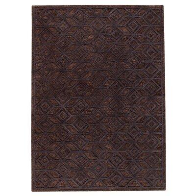 Shavonne Black Geometric Area Rug Rug Size: 5 x 8