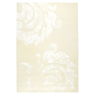 Andaluca White Area Rug Rug Size: 56 x 710