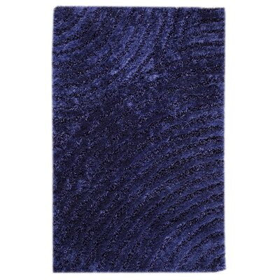 Camilla Blue Area Rug Rug Size: Rectangle 52 x 76