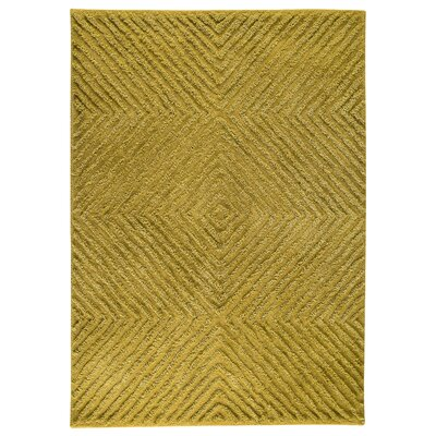 Seneca Yellow Area Rug Rug Size: 56 x 710