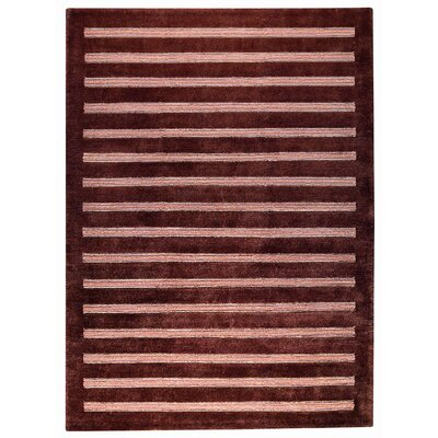 Chicago Brown Rug Rug Size: Runner 28 x 710