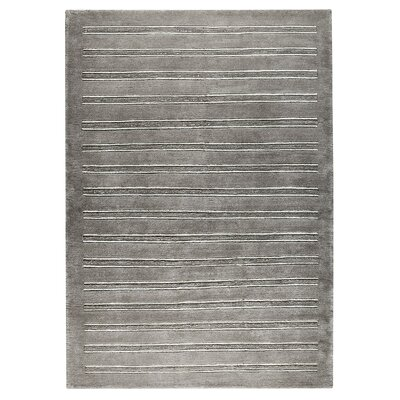 Chicago Grey Rug Rug Size: 66 x 99