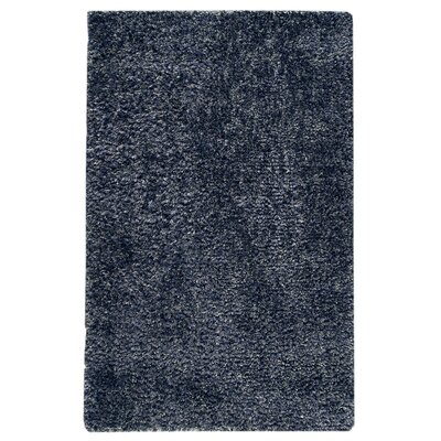 Beverly Blue Area Rug Rug Size: 5 x 8