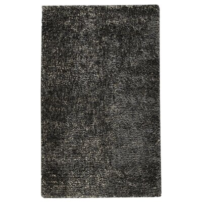 Beverly Grey/Charcoal Area Rug Rug Size: 5 x 8