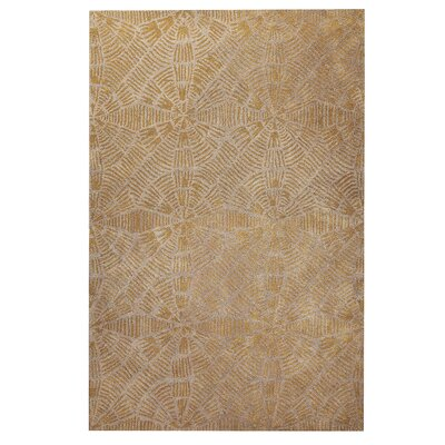 Maze Grey/Brown Area Rug Rug Size: 52 x 76