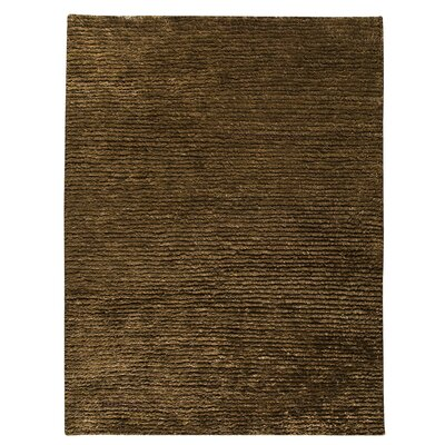 Husk Dark Brown Area Rug Rug Size: 83 x 116