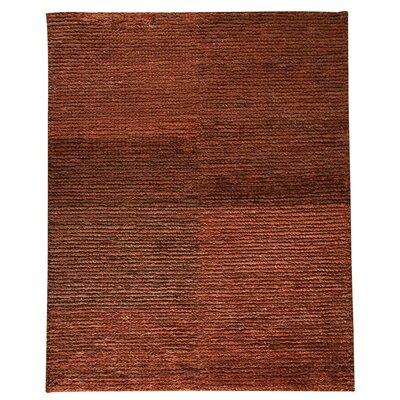 Husk Rust Area Rug Rug Size: 83 x 116