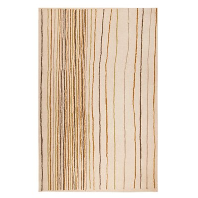 Rosana Grey/Natural Area Rug Rug Size: 52 x 76
