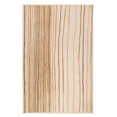 Rosana Grey/Natural Area Rug Rug Size: 710 x 910