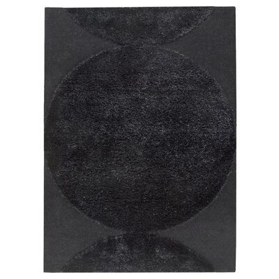 Onord Black Area Rug Rug Size: 83 x 116