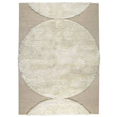 Onord White Area Rug Rug Size: 56 x 710