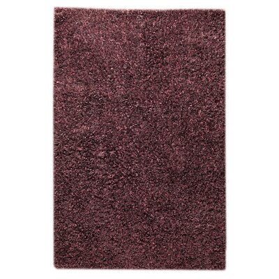 Cabra Purple Area Rug Rug Size: 5'2