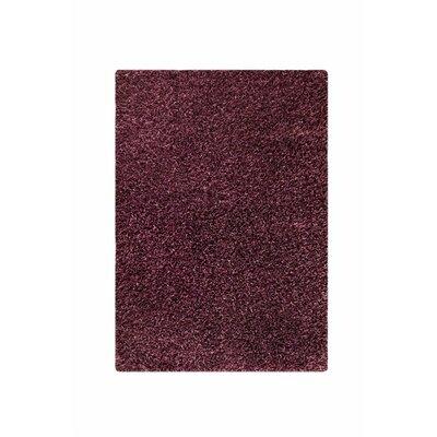 Hirsute Purple Solid Area Rug Rug Size: 710 x 910