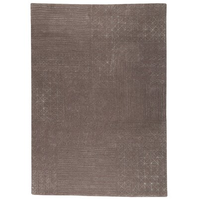 Ashour Grey Area Rug Rug Size: 56 x 710