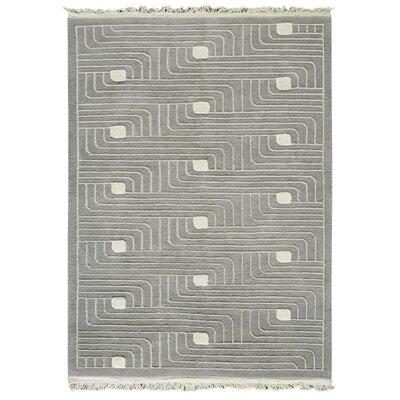 Ferra Grey Area Rug Rug Size: 9 x 12