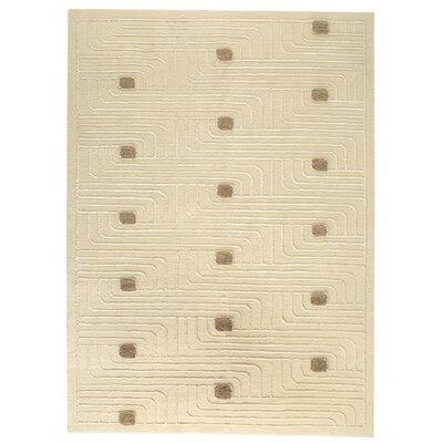 Ferra White Area Rug Rug Size: 56 x 710
