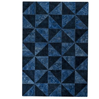 Tile Viviana Blue / Turquoise Area Rug Rug Size: 52 x 76