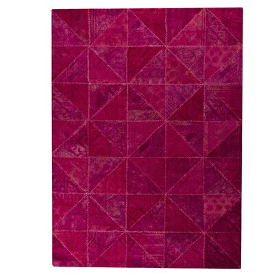 Tile Viviana Pink Area Rug Rug Size: 52 x 76