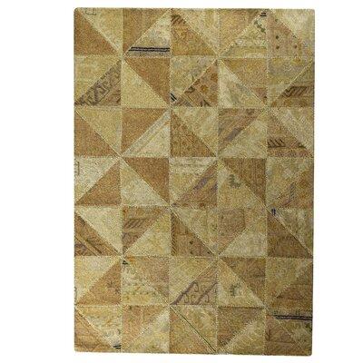 Tile Viviana Beige Area Rug Rug Size: 710 x 910