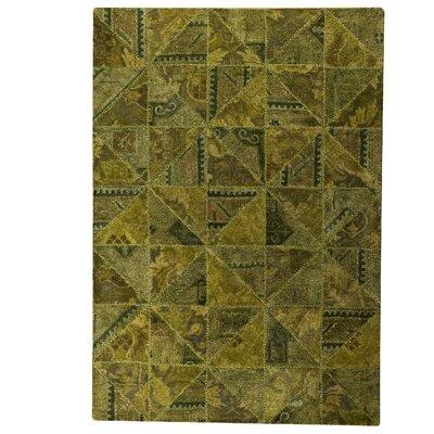 Tile Viviana Green Area Rug Rug Size: 52 x 76