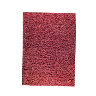 Weeds Red/Rust Area Rug Rug Size: 83 x 116