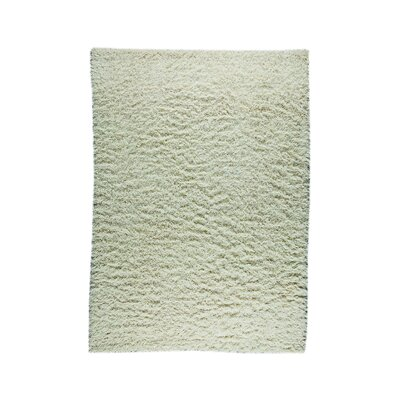 Weeds White Area Rug Rug Size: 83 x 116