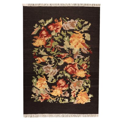 Mcneil  Brown Area Rug Rug Size: 66 x 99