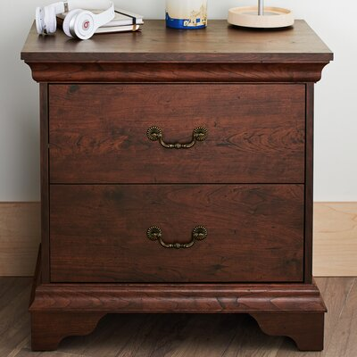 Stevens 2 Drawer Nightstand