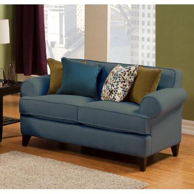 Nevis Loveseat Upholstery: Sea Blue