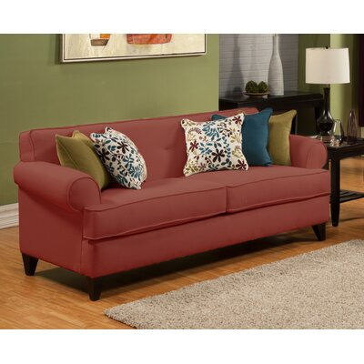 Nevis Sofa Upholstery: Red Wine