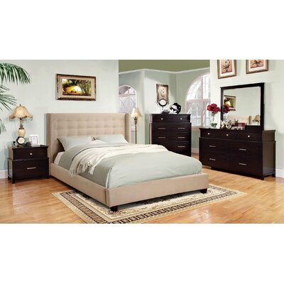 Myrna King Upholstered Platform Bed