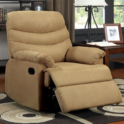 Singclaire Chaise Recliner Upholstery: Mocha