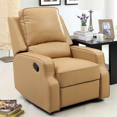 Torque Sleek Recliner Upholstery: Camel