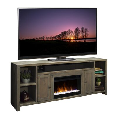 Columbus 84 TV Stand with Fireplace