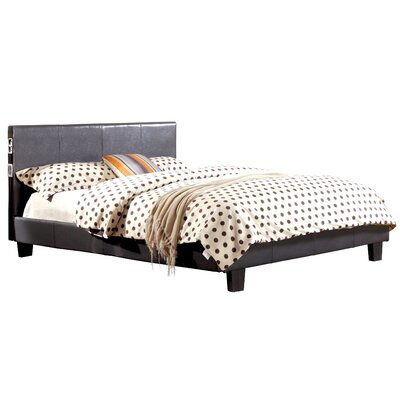 Conrad Upholstered Platform Bed Size: King, Upholstery: Gray JEG-8100HZ-FL
