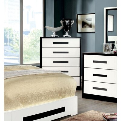 Verzaci 5 Drawer Double Chest