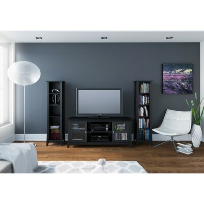 Alesha Wood Frame Entertainment Center