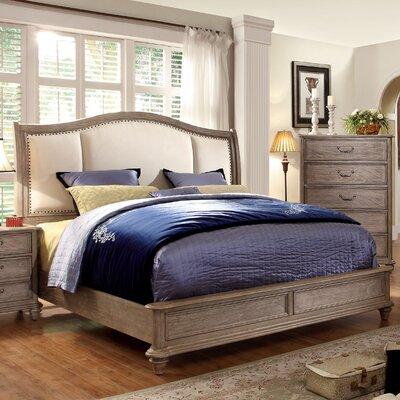 Plaza Upholstered Platform Bed Size: King