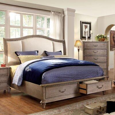 Plaza Upholstered Platform Bed Size: Queen