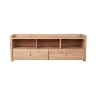 Pettry 20.5 TV Stand Color: Weathered Wood