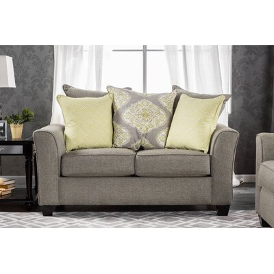 KUI7550 27194898 KUI7550 Hokku Designs Serena Contemporary Loveseat
