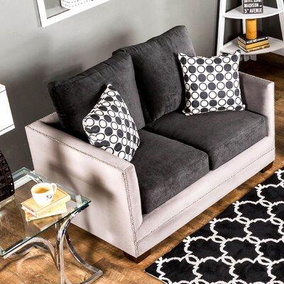 KUI7424 26963244 KUI7424 Hokku Designs Keaton Love Seat
