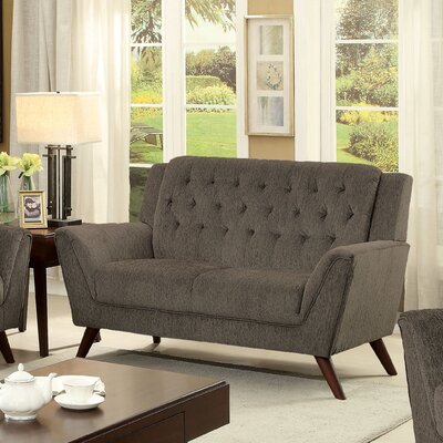 KUI7570 27203845 KUI7570 Hokku Designs Donelly Deep Tufted Loveseat