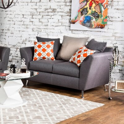 Hokku Designs KUI7528 27194876 Adalena Contemporary Loveseat