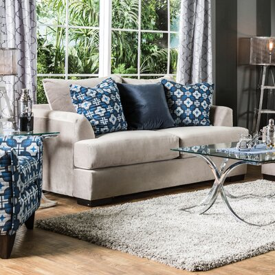 KUI7545 27194893 KUI7545 Hokku Designs Tailani Contemporary Loveseat