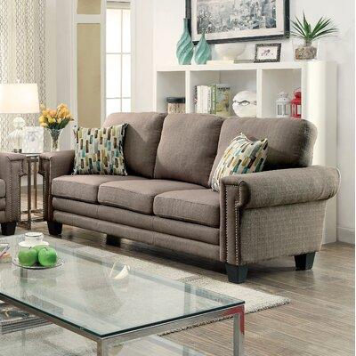 KUI7582 27203860 KUI7582 Hokku Designs Prissalla II Nailhead Trim Sofa